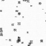 漢字で埋め尽くされる画面 — The screen buried by kanji —