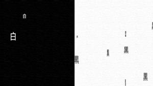 白と黒 --- Black and White ---